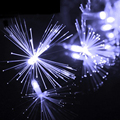 New Design 220V Christmas LED String 10M 100 Leds Dandelion Optic Fiber Fairy String Light For Wedding Garden Party Decoration