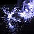 Novo Design 220 V Natal LEVOU Corda 10 M 100 Leds Dandelion Fada Luz Cordas Para O Casamento Do Jardim de Fibra Óptica Decoração do partido