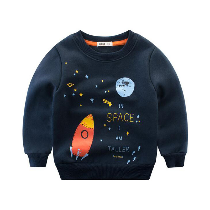 Children plus velvet pullovers, boys and girls sweater, 2-8 years old children clothes