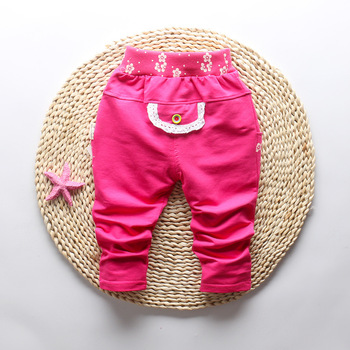 Butterfly Patterned Pants for Baby Girl 5