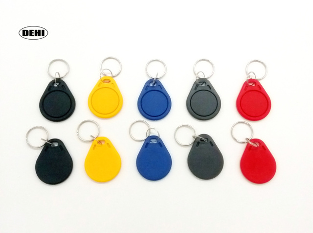 10pcs UID Writable Block 0 RFID Tag Key fobs 13.56MHz ISO14443A Used to Copy Cards