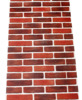 HaokHome Vintage Retro Faux Brick Wallpaper 3D Realistic Stone Rolls Brick Red Grey Living Room Bedroom