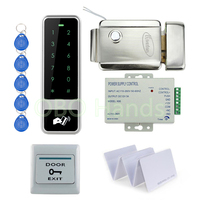 C5 Standalone EM125KHz RFID Keypad Access Control DIY Kit Set For Access Control Door Lock System