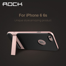 Brand Design For iPhone 6 Plus 6s Plus Case Rock Royce Holder Series Luxury TPU+PC Case For iPhone6s Plus 5.5'' Phone Back Cover чехол rock tpu pc guard series для iphone 7 plus 5 5