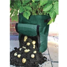 PE Bags Potato Cultivation Planting Garden Pots Planters Vegetable Planting Bags Grow Bags Farm Home Garden Supplies
