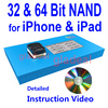 32 64 Bit NAND Flash IC Chip Programmer Tool Fix Repair Motherboard HDD Chip Serial Number