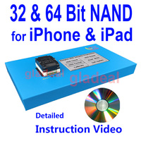 32 64 Bit NAND Flash IC Chip Programmer Tool Fix Repair Motherboard HDD Chip Serial Number SN Model for iPad iPhone