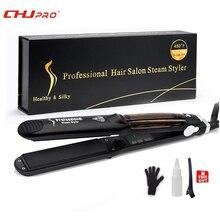CHJ Steampod Professional паровой выпрямитель для волос керамический Chapinha плоский Утюг паровой выпрямитель паровой волос Утюг утюжок для волос