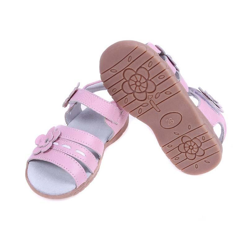 Sandalias para niños 2019 Verano de cuero genuino Sandalias de los - Zapatos de niños - foto 5