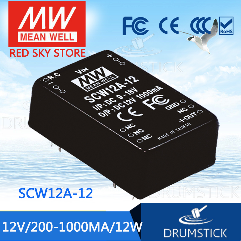 Advantages MEAN WELL SCW12A-12 12V 1000mA meanwell SCW12 12V 12W DC-DC Regulated Single Output ConverterAdvantages MEAN WELL SCW12A-12 12V 1000mA meanwell SCW12 12V 12W DC-DC Regulated Single Output Converter