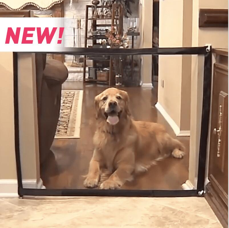 2018 popular Magic Gate Portable Folding Safe Guard Indoor and Outdoor Protection Safety Gate Extra Wide Magic-gate