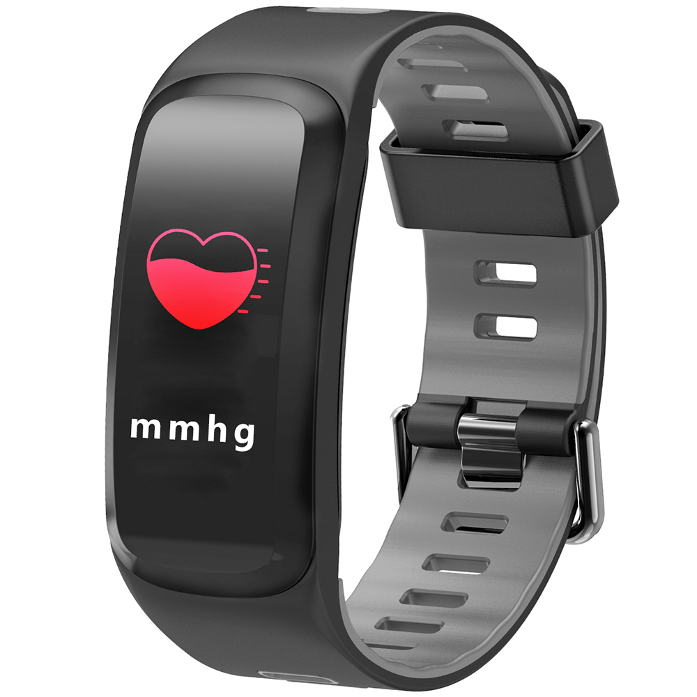 NO.1 F4 Colorful Sports Smart Bracelet IP68 Waterproof Heart Rate / Sleep / Blood Pressure / Blood Oxygen Monitor Smart Bracelet