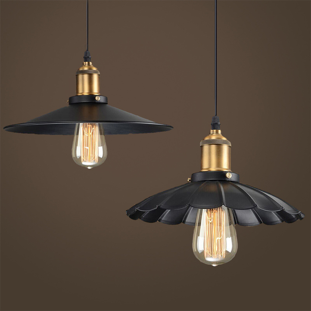 Loft lampadari industrial pendant lights rustic suspension for Lampadari la maison du monde
