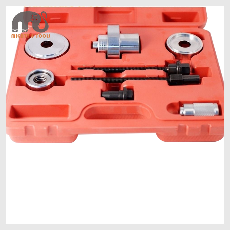 8pc VW Polo Engine Subframe Bush Extractor Kit Wishbone Silent Block  Remover Auto Bearing Extractor Kit Set Remover BushesPuller a5d6ad92e3