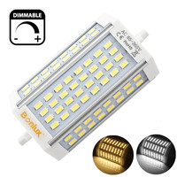 LED R7S 30W Dimmable Light Bulb Double Ended J Type J118 LED Floodlight with 300W R7S Halogen Bulb Replacement