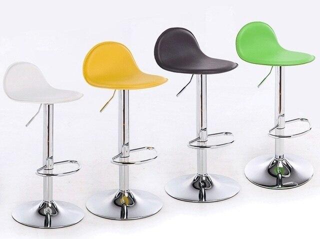 Blanco amarillo asientos sillas de Bar Café casa muebles taburetes ...