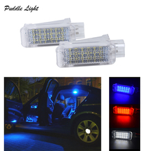 2Pcs LED Car Interior lamp Seat light footwell light for Audi A2 A3 A4 A6 A8 S4 RS4 RS6 Q5 Q7 TT R8  Car Trunk Lamp Light cruise control stalk switch system for audi a2 a3 a6 s6 rs6 tt for skoda octavia fabia 8l0953513j with cables