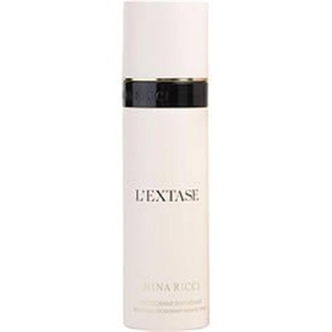 Nina Ricci 298973 3.4 oz Lextase Nina Ricci Deodorant Spray for Women nina ricci lextase caresse de rose ж товар парфюмерная вода 50 мл nina ricci