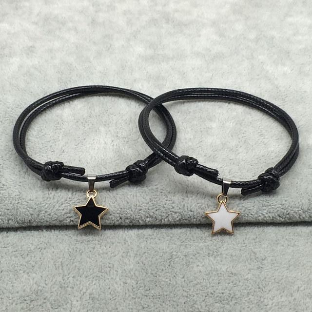 Bracelet De Couple Etoile