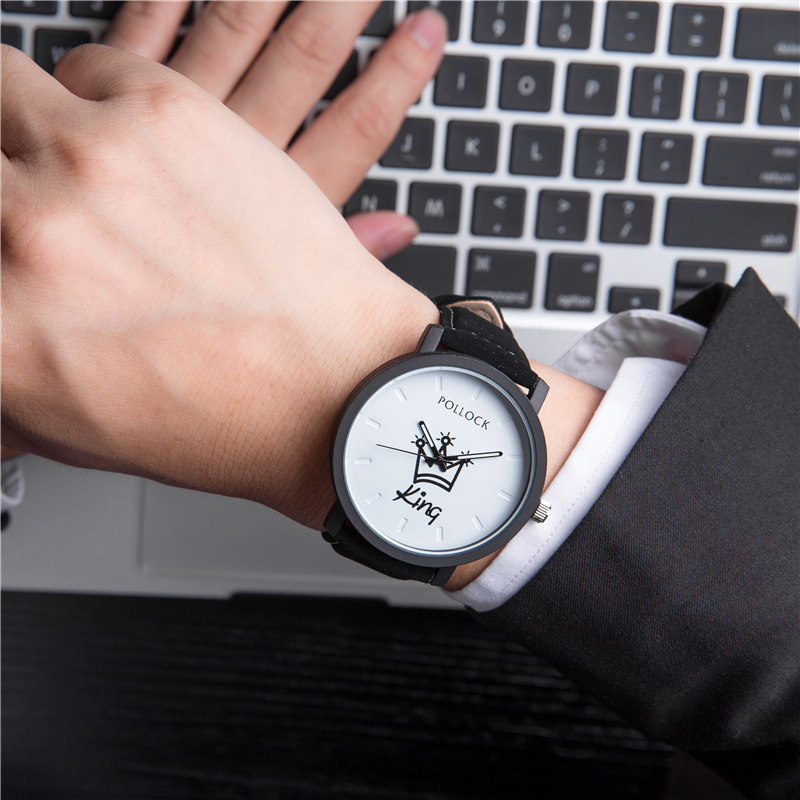 King/Queen Leather Watch 2