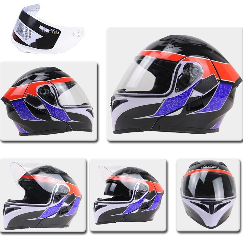 New Helmet Lens Motorcycle Shield K3SV K5 Helmet Universal Lens 316 902 GXT902 Helmet Lens Protective Gear Visor Front Flip up