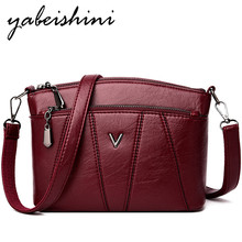 New Crossbody Bags For Women Shoulder 2019 Messenger Bags Handbag Leather Ladies Shoulder Bag Women Small Satchel Bolso mujer