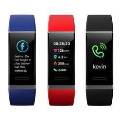 Ультратонкий цветной экран умный Браслет мониторинг сердечного ритма кровяное давление Bluetooth водостойкие спортивные умные браслеты