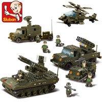 Sluban نموذج لعبة متوافقة مع ليغو B7000 956 قطع العسكرية المدرعة الهواء نموذج الهوايات بناء نموذج كتل بناء مجموعات اللعب