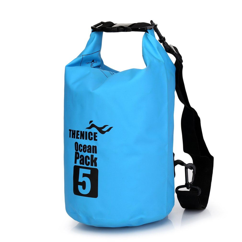 Portable Waterproof Storage Dry Bag Outdoor Equipment Travel Kit Ultralight Camping Hiking Drifting Kayaking Swim Pool Accessory