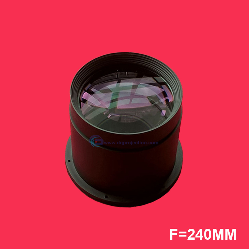LED Projector DIY Lens f 240mm Focal Length DQPL F240 Projection Lens for 7 inches Projector