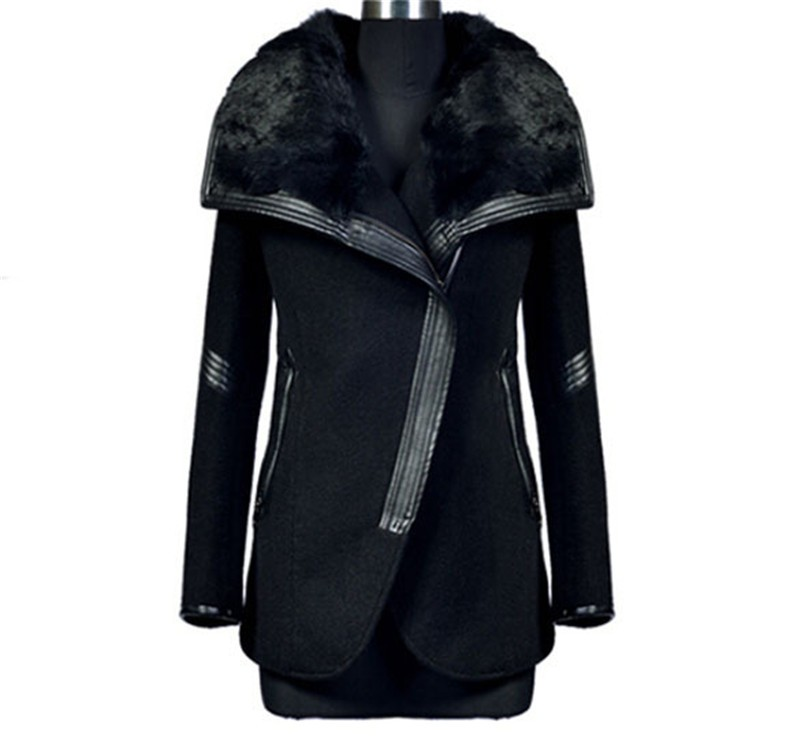Winter cashmere jackets warm women long thick coat woolen female tunic overcoat cashmere coats jackets plus size L XL XXL XXXL (5)