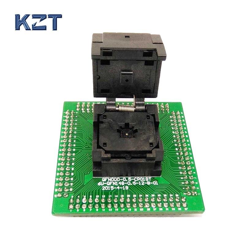 QFN20 MLF20 WLCSP20 to DIP20 Programming Socket Adapter Pin Pitch 0.5mm IC Body Size 4x4mm IC550-0204-009-G Test Socket