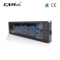 Ganxin Blue Color New Material For Convenient Electronic Led Countdown Clock