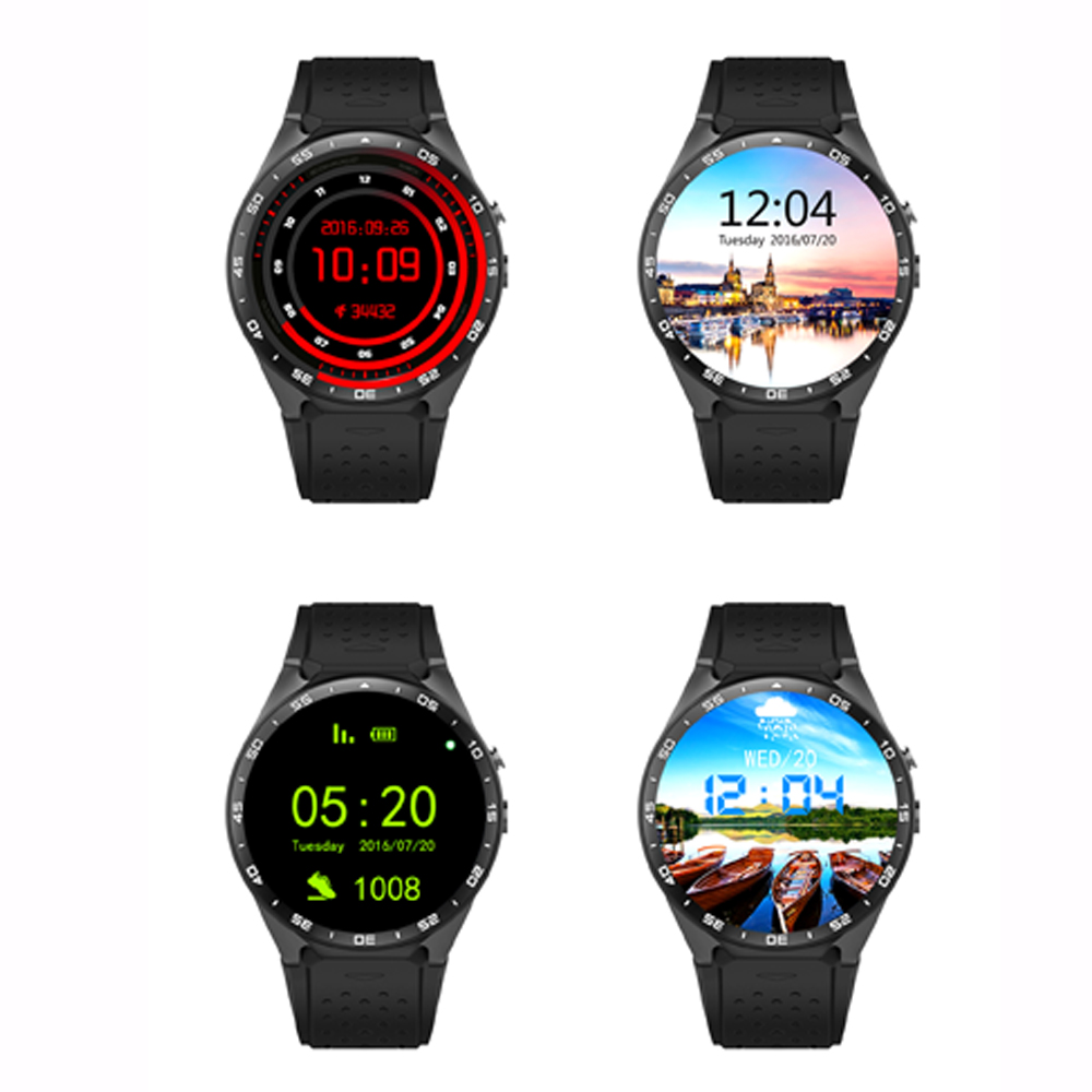 New 3G font b Smartwatches b font Android Phone Watch Wristwatch With Pedometer 2 0MP Camera