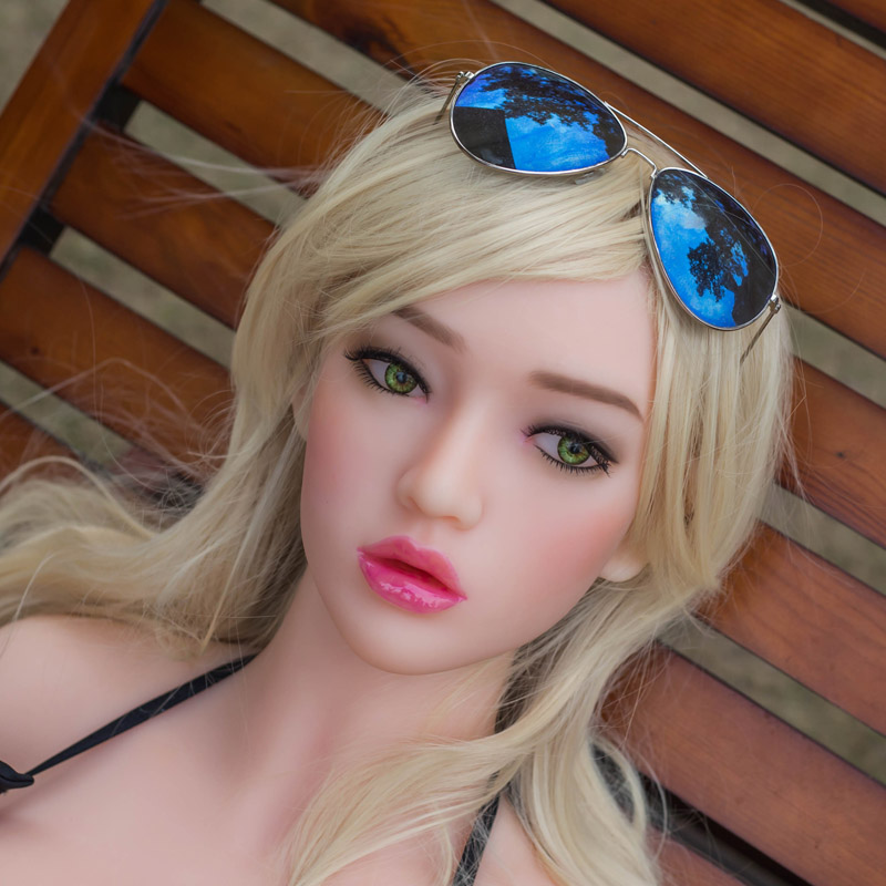 WMDOLL #9 Top quality realistic sex dolls head for real doll, oral silicone adult dolls heads sex toys for men oral adult sex toys for men dolls silicone torso doll