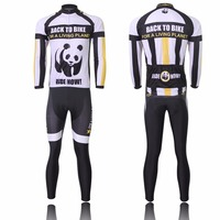 Panda Thermal Long Sleeve Bike Bicycle Clothing Ropa Ciclismo Men S Specialized Team Cycling Jersey Set