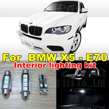20x Canbus Cool White Led Interior Dome Mirrors Puddle Bulb Trunk LED for BMW X5 - E70 Interior light kit Package 2007 - 2013
