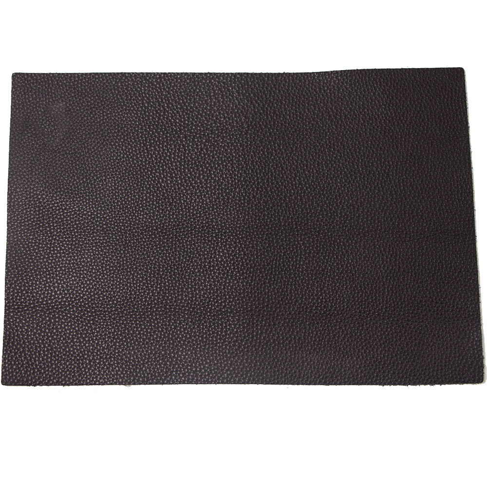 Leather Craft Soft Black Genuine Grain Cowhide Leather For Making Wallet Purse Bag Sofa Soft Leather First Layer Full Grain