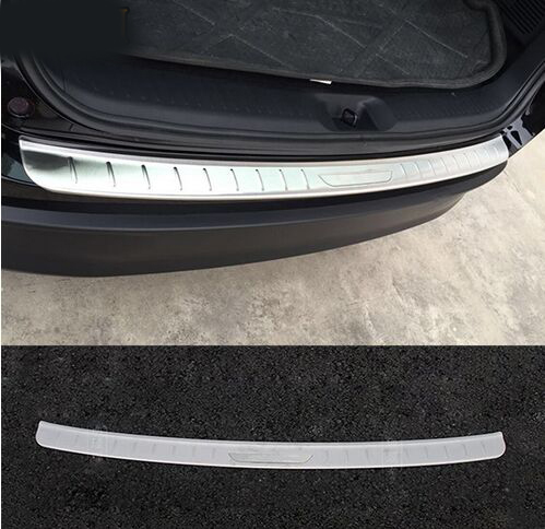 ACCESSORIES FIT FOR 2014 2015 toyota HIGHLANDER KLUGER REAR BUMPER PROTECTOR STEP PANEL BOOT COVER SILL PLATE