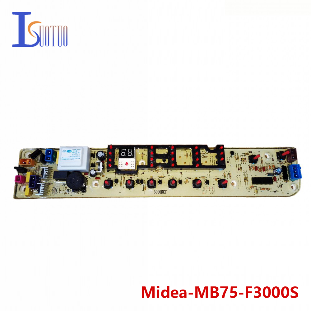 Midea washing machine brand new computer board MB75-F3000S MB75-3000G(S)  brand new washing machine timer dxt 15f g 3 5a 250v 180 degree