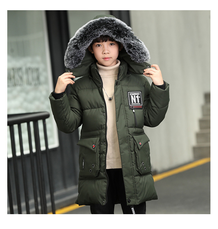 New Teen Boys Winter Coat Hooded Children Patchwork Down Baby Boy Winter Jacket Boys Kids Warm Outerwear Parks 2018 baby winter coat boy hooded children patchwork down baby boy winter jacket boys kids warm outerwear parks 5 to 14 years