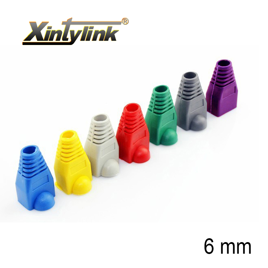hight resolution of xintylink rj45 caps connector sheath cat5 cat5e cat6 multicolour tpu boots protective sleeve network connectors ethernet parts