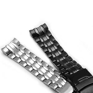 Image 2 - PEIYIความแม่นยำสูงสายคล้องดัดแปลงCasioนาฬิกากันน้ำManสายคล้องEF 535D 7Aนาฬิกาเงินสีดำ