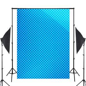 Image 2 - 5x7ft כחול מופשט רקע תמונה רקע צילום אמנות תמונה סטודיו אבזרי קיר רקע
