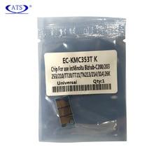 цена на Toner Cartridge Chip For Konica Minolta C 200 203 253 210 7720 7721 Compatible C200 C203 C253 C210 C7720 C7721 Copier Supplies