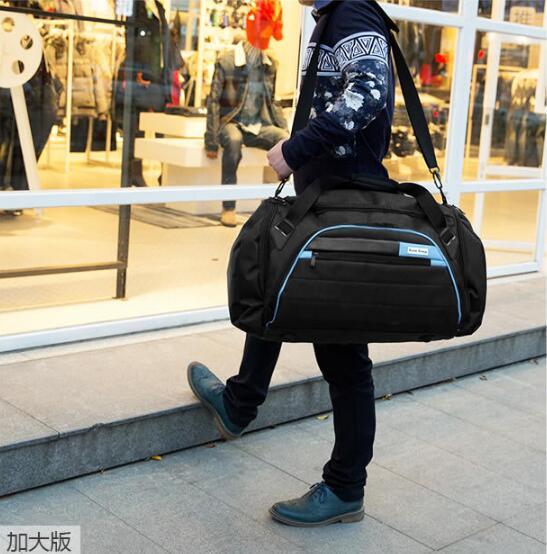 62b3f0afc2 Red Casual Blue 2019 D'épaule Voyage De large Blue D'affaires Mode Bagages  Large Nouveau large Voyages Les Grande Duffle Oxford Sacs ...
