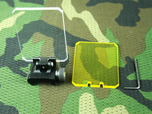 Promo New type tactical  Scope Red Dot & Green Dot Sight Lens Protective Cover Fits 20mm Picatinny rail