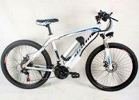 26 дюймов горный велосипед Россия посвященный, 500 Вт 48 В литиевая батарея электрический велосипед алюминиевый сплав рама велосипед электрич