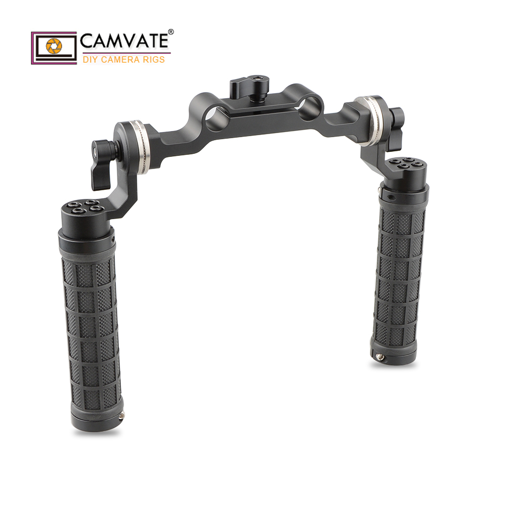 7c8b25121 CAMVATE Rosette Handgrips & 15mm Rod Clamp Railblock with ARRI Rosette for  DSLR C1548 camera photography accessories. 5269.81 руб.
