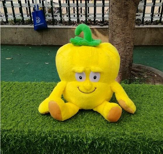 Livraison gratuite nouveau Fruit légumes doux en peluche jouet bébé jouets éducatifs coloré furit légume 10-35cm peut choisir 1 pièces